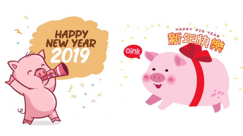 Chinese New Year 2019 Funny Greetings Cute Pig Memes Wishes And