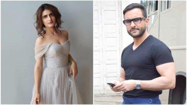 Fatima Sana Shaikh to Romance Saif Ali Khan in Tantrik?