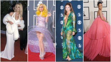 Grammy Awards 2019: From Jennifer Lopez's Iconic Dress to Rihanna's Princess Moment, Have a Look at the Best Red Carpet Outings of All Time