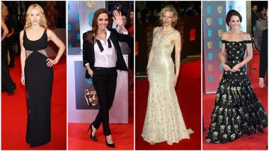 BAFTA Awards 2019: From Kate Middleton to Angelina Jolie, Let's Rewind the Time to Witness Some of the Best Red Carpet Outings
