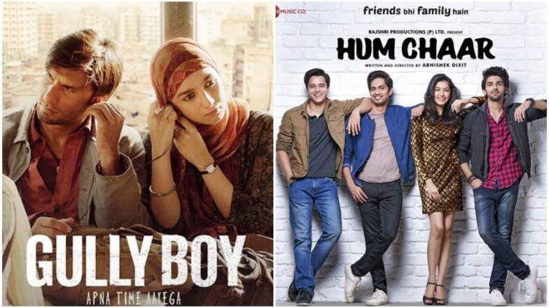 Movies to Watch This Week: Ranveer Singh-Alia Bhatt's Gully Boy, Rajshri's Hum Chaar