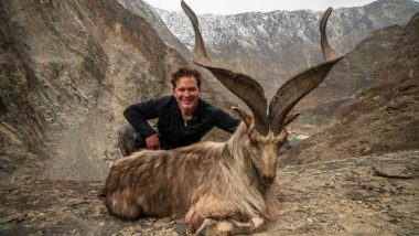 US Trophy Hunter Pays Pakistan Rs 77 Lakh to Kill Rare Himalayan Goat Markhor, Says it Helps Conservation!