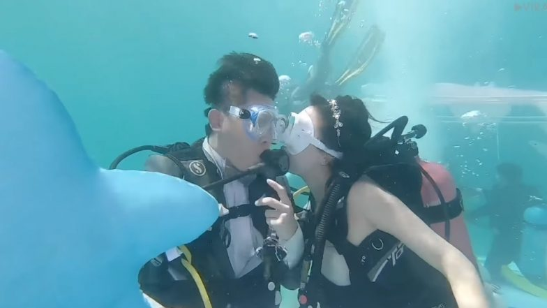 Thailand to Witness 17 Underwater Wedding Ceremonies in Trang Province (Watch Video)