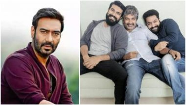 Ajay Devgn to Make a Cameo in Jr NTR and Ram Charan's RRR, Directed by SS Rajamouli?