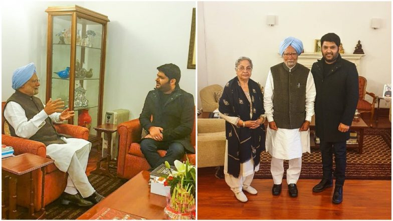 While Bollywood is Busy Meeting Prime Minister Narendra Modi, Kapil Sharma Gets the Honour to Interact with the Former PM, Dr Manmohan Singh