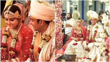 TV Actress Palak Jain Ties the Knot with Beau Tapasvi Mehta - View Pics from Their Wedding Ceremony