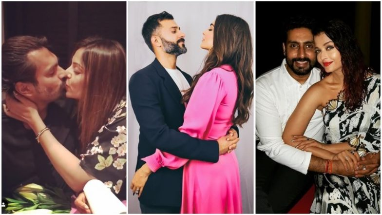 Valentine's Day 2019: Aishwarya Rai Bachchan, Sonam Kapoor, Bipasha Basu and Other Bollywood Celebs Share PDA-Filled Wishes for Their Partners on Instagram - View Pics