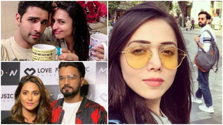 Valentine's Day 2019: Divyanka Tripathi-Vivek Dahiya, Nakuul Mehta-Jankee Parekh, Hina Khan-Rocky Jaiswal and Other Telly Stars Share Love-Filled Wishes for Their Partners on Social Media – View Pics