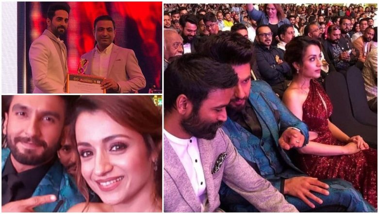 Asiavision Awards 2018 Winners List: Dhanush, Ranveer Singh, Ayushmann Khurrana Take Home the Trophy – Watch Videos