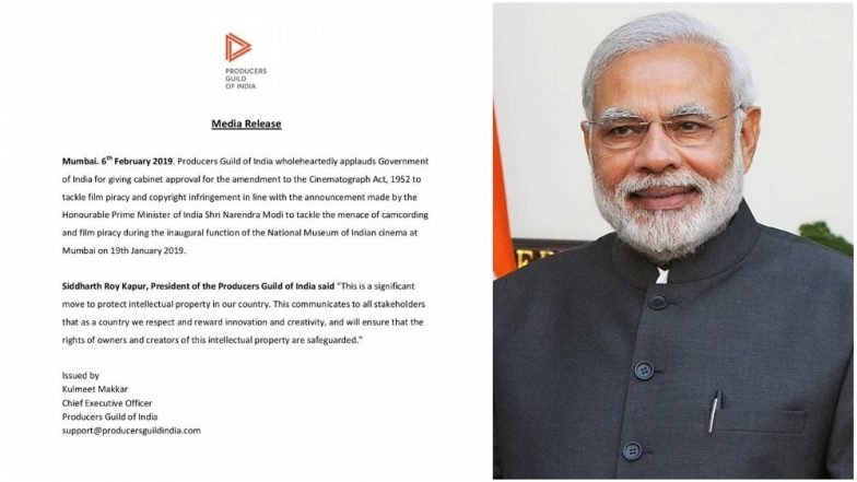 TamilRockers Beware! Check Out PM Narendra Modi's 'Master Stroke' to Curb Video Piracy; Producer's Guild Hail Move
