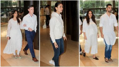 Kareena Kapoor Khan, Neha Dhupia, Angad Bedi and Others Attend Vikram Phadnis' Mother's Prayer Meet - View Pics