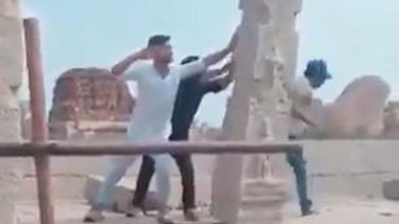 Boys Who Vandalised Hampi Pillars Re-Erect Them and Pay Fine of Rs 70,000 Each After Karnataka Court's Order