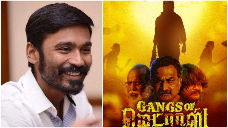 Dhanush to Reveal the First Look Teaser of Gangs of Madras on This Date