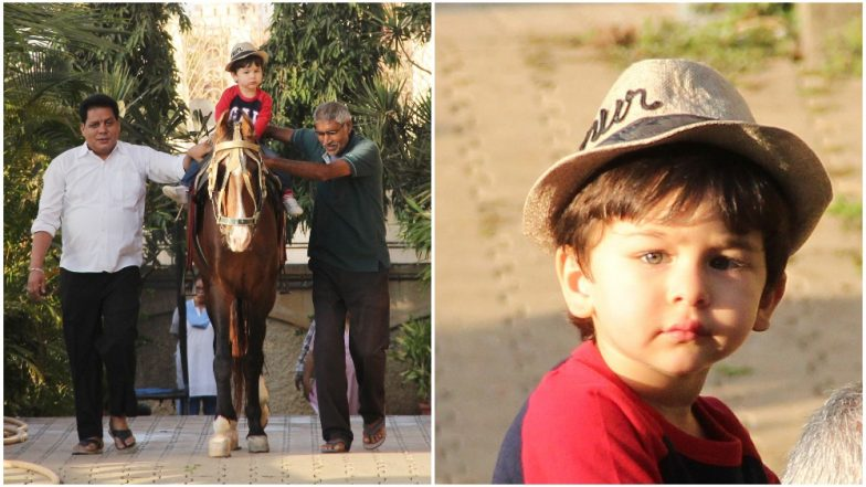 Taimur Ali Khan Has a Customised Fedora and That Only Justifies his 'Nawabi' Choices