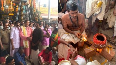 Attukal Pongala 2019: Trivandrum MP Shashi Tharoor Shares Photos And Videos of Temple Festival