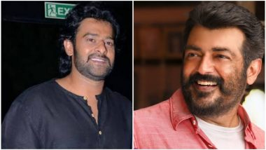 Here's What Happened When Thala Ajith and Baahubali Fame Prabhas Met on Saaho Sets