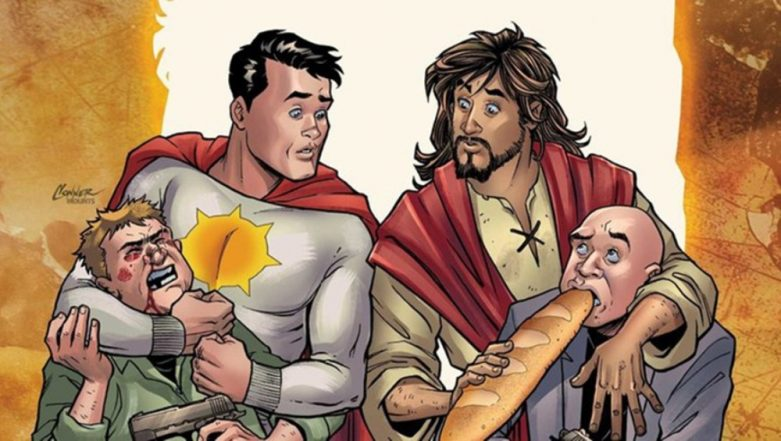 DC Cancels Comic Book 'Second Coming' That Portrays Jesus Christ As Superhero Sun-Man's Sidekick Following Backlash
