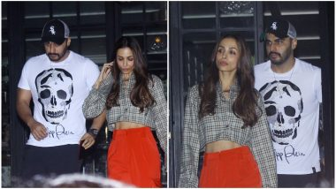 Arjun Kapoor and Malaika Arora Start Their Valentine's Week Celebration With a Dinner Date - View Pics