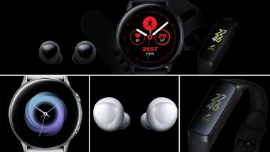 Samsung Galaxy Watch Active, Galaxy Buds & Fit e Leaked Ahead of Galaxy S10 Launch Event