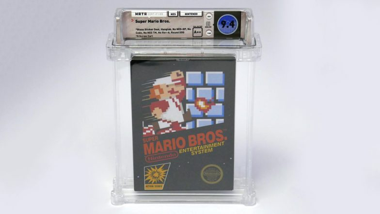 Super Mario Bros First-Run Game Sealed Copy Sold For Whooping Price of $100,000