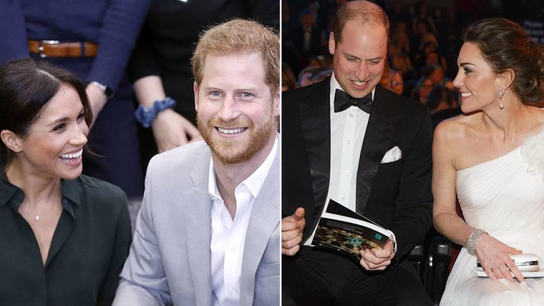 Prince William and Prince Harry  Reportedly To Split Royal Household Amid Rumours Of Meghan-Kate Feud