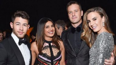 Priyanka Chopra-Nick Jonas Pose with Armie Hammer-Elizabeth Chambers and That's Way Too Much Gorgeousness for One Picture