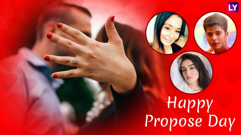 Propose Day 2019: From Siddharth Sharma to Tanya Sharma, TV Celebs Give Irresistible Proposal Ideas