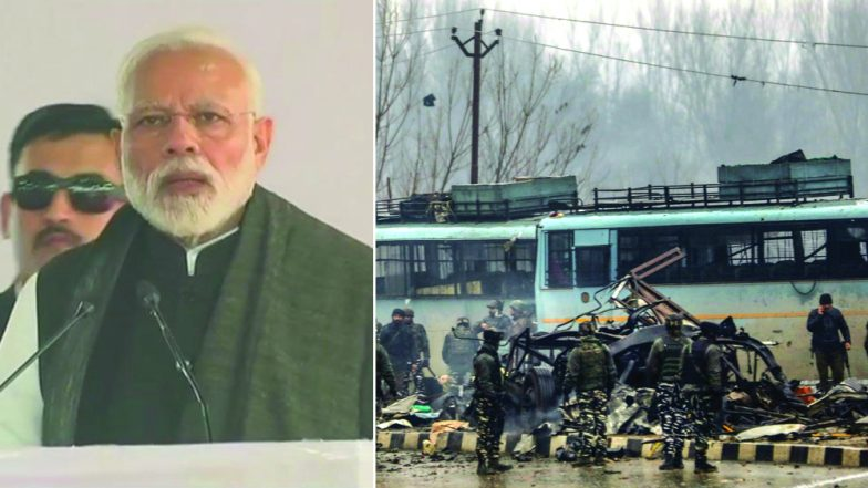 Pulwama Attack: PM Narendra Modi Vows to Give Befitting Reply to JeM Strike, Says 'Army Given Free Hand'