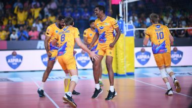 Kochi Blue Spikers vs Chennai Spartans, Pro Volleyball League 2019 Live Streaming and Telecast Details: When and Where to Watch PVL Semi Final Match Online on SonyLIV and TV?