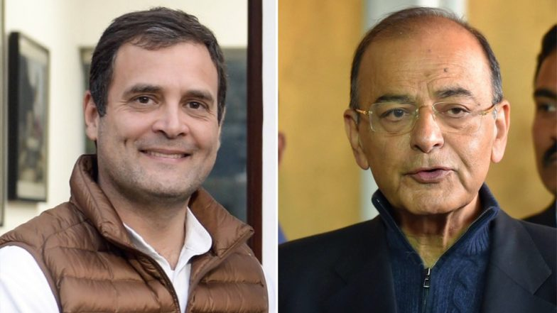 Arun Jaitley Pens Another Blog, Attacks Congress Over 'Revoking Triple Talaq Bill' Promise, Says Rahul Gandhi Has Repeated Rajiv Gandhi's Mistakes