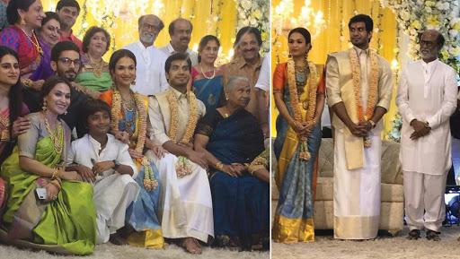 Soundarya Rajinikanth and Vishagan Vanangamudi Pre-Wedding Reception Pictures Flood the Internet, See Photos Here