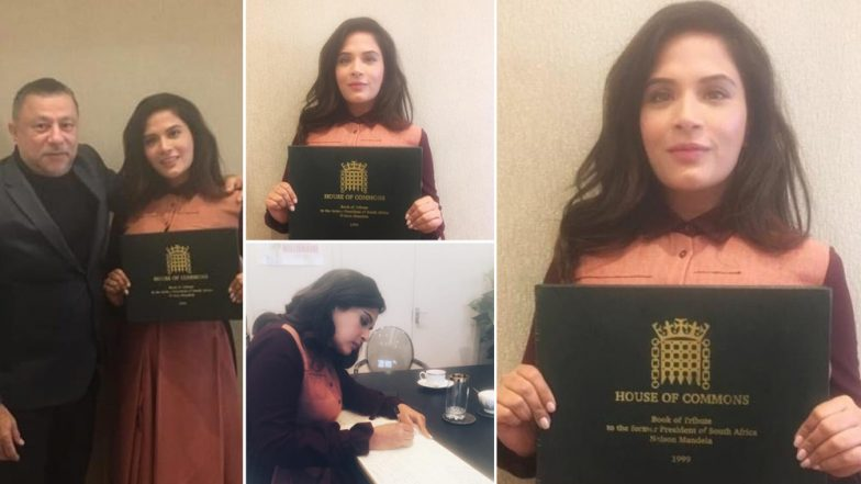 Richa Chadha Becomes the Only Indian Celeb to Join Barack Obama and Will Smith in Paying a Tribute to The Late Nelson Mandela - See Pic