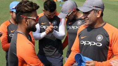 IPL 2019: Delhi Capitals' Rishabh Pant TEASES CSK Thalla MS Dhoni Ahead of IPL 12 (Watch Video)