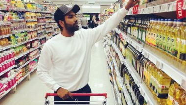 Rohit Sharma is Missing Wife Ritika Big Time as He Goes Out on Solo Grocery Shopping in New Zealand (See Picture)