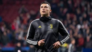 Cristiano Ronaldo Teases Atletico Madrid's Fans With '5 UCL' Gesture After Champions League 2018-19 Clash (Watch Video)