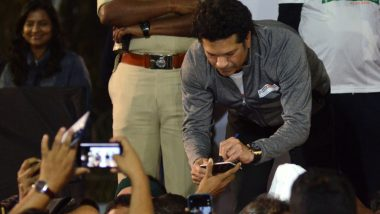Sachin Tendulkar Does Push-Ups to Raise Rs 15 Lakh for Families of Pulwama Attack Martyrs, Watch Video