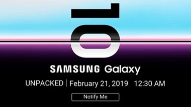 New Samsung Galaxy S10 Flagship Smartphone To Be Released on March 8; Pre-orders Open in US Ahead of Global Launch