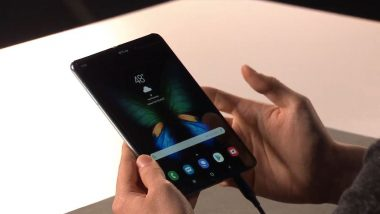 $2000 Galaxy Fold Smartphone is Samsung's Answer To Future; Gets 12GB RAM & 6 Cameras