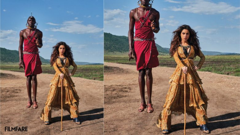Diet Sabya Trolls Sara Ali Khan's Latest Photoshoot For COPYING The Concept From Maison Valentino's 2016 Shoot (See Pic Inside)
