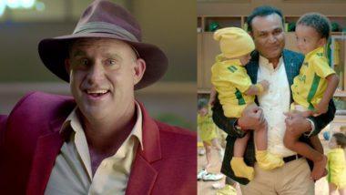 India vs Australia 2019: 'Australians ko Bachcha Mat Samajhna', Mathew Hayden Responds to Virender Sehwag in Promotional Video for IND vs AUS Series
