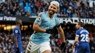Sergio Aguero Fires a Hat-Trick; Takes Manchester City to 6-0 Victory Against Chelsea, EPL 2018-19 (Watch Video)
