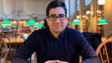 Shah Faesal Steps Down as JKPM President