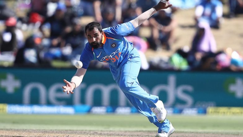 NZ 217/10 in 44.1 Overs | India vs New Zealand 5th ODI 2019 Highlights: IND Win by 35 Runs, Take Series 4-1