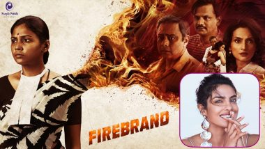 Priyanka Chopra Says 'Proud Moment For Me' As Her Production's Marathi Original 'Firebrand' Streams On Netflix