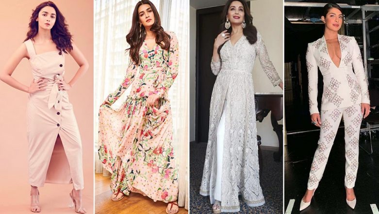 Priyanka Chopra, Alia Bhatt and Kriti Sanon Score High on Our Fashion Meter This Week - View Pics