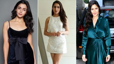 Valentine's Day 2019: Alia Bhatt, Sara Ali Khan and Katrina Kaif Can Help with You Essential Style Tips for the Special Night