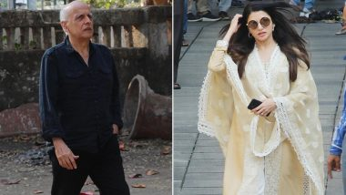 Rajkumar Barjatya Passes Away: Bhagyashree, Mahesh Bhatt, Mohnish Bahl and Other Celebs Attend Late Producer's Funeral