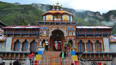Badrinath Shrine Doors in Uttarakhand to Be Thrown Open to Devotees on May 10 After Winter Break