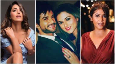 Hina Khan, Ridhi Dogra-Raqesh Bapat, Ekta Kapoor – Take a Look at the TV Newsmakers of the Week