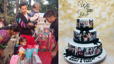 Yash and Roohi Johar Birthday Party: Varun Dhawan Joins the Celebration Hosted by Karan Johar - View Pics and Videos